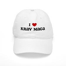 I Love Krav Maga Baseball Cap