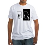 Problem Solved Cartoon Quote T-Shirt