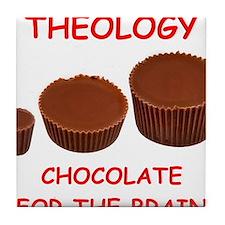 theology Tile Coaster