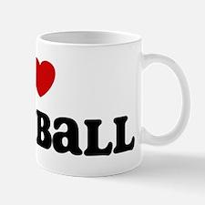 I Love Korfball Mug