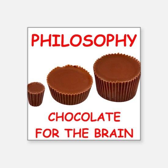 philosophy Sticker