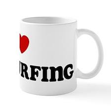 I Love Kitesurfing Mug