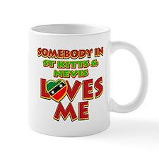 Somebody in St Kitts and Nevis Loves me Mug