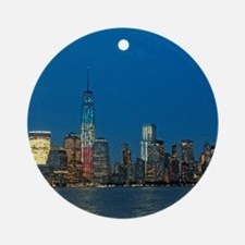 Stunning! New York USA - Pro Phot Ornament (Round)