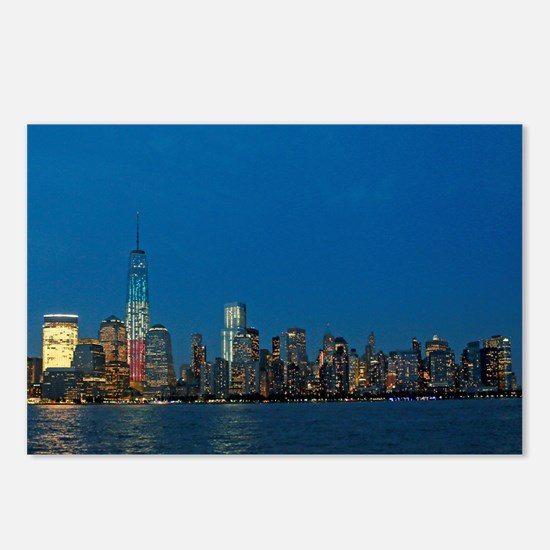 Stunning! New York USA - Postcards (Package of 8)