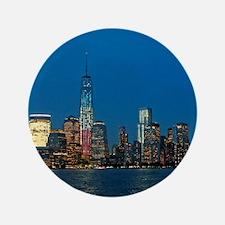 "Stunning! New York USA - Pro Photo 3.5"" Button"