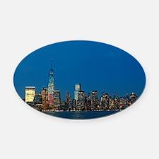 Stunning! New York USA - Pro Photo Oval Car Magnet