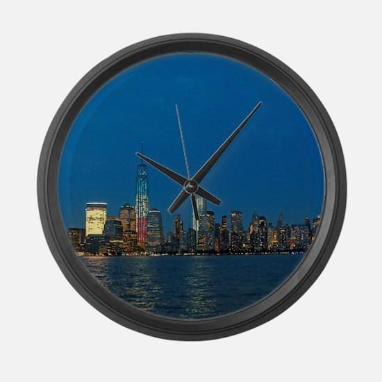 Stunning! New York USA - Pro Phot Large Wall Clock