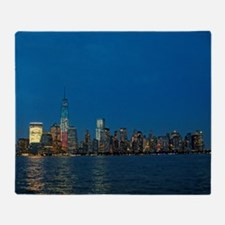 Stunning! New York USA - Pro Photo Throw Blanket