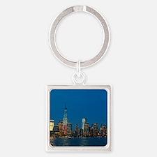 Stunning! New York USA - Pro Photo Square Keychain