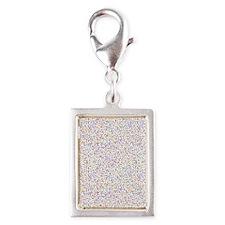 Colorful Mites Silver Portrait Charm