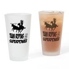aikido is my superpower Drinking Glass