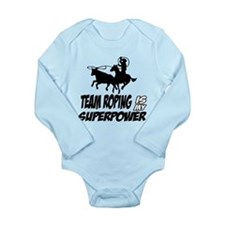 aikido is my superpower Long Sleeve Infant Bodysui
