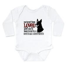 GSD Love Long Sleeve Infant Bodysuit