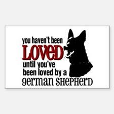 GSD Love Decal