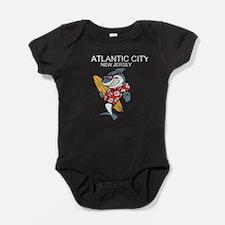 Atlantic City, New Jersey Baby Bodysuit