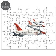 T-45 Goshawk Trainer Aircraft Puzzle