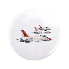 """T-45 Goshawk Trainer Aircraft 3.5"""" Button"""