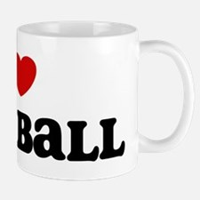 I Love Goalball Mug