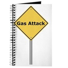 Warning Sign Gas Attack Journal