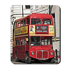 Vintage Red  London Bus Mousepad