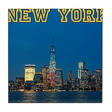 New! New York Skyline - Pro Photo Tile Coaster
