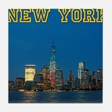 New! New York Skyline - Pro Photo Tile Coaster