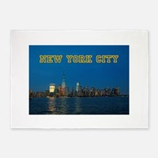 New! New York Skyline - Pro Photo 5'x7'Area Rug
