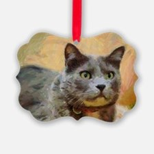 Cat painting Ornament