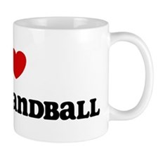 I Love Gaelic Handball Mug