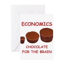 economics Greeting Cards
