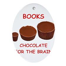 books Ornament (Oval)