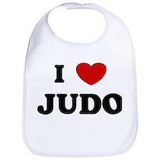 I Love Judo Bib