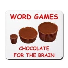 word games Mousepad