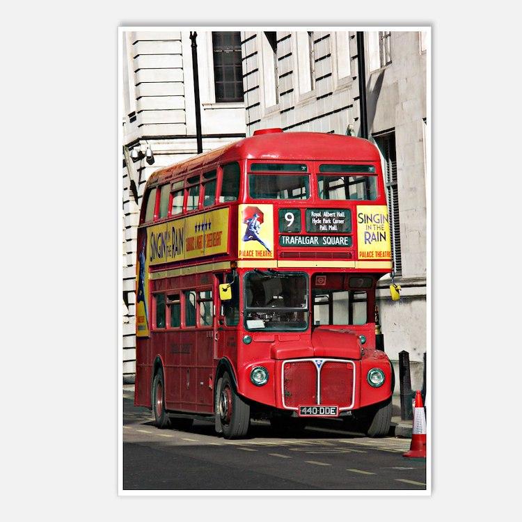 london bus postcards london bus post card design template. Black Bedroom Furniture Sets. Home Design Ideas
