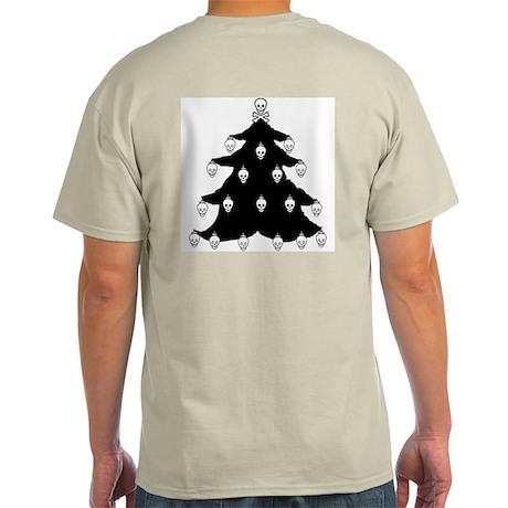 YO CHRISTMAS TREE YO CHRISTMAS TREE Ash Grey T-Shi