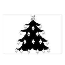 YO CHRISTMAS TREE YO CHRISTMAS TREE Postcards (Pac