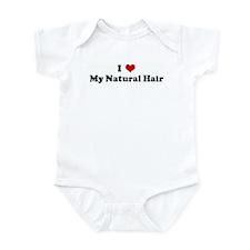 I Love My Natural Hair Infant Bodysuit