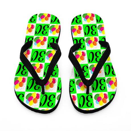 AMAZING 30TH Flip Flops