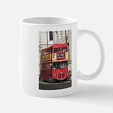 Vintage Red London Bus Mugs