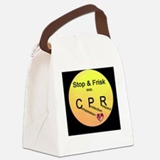 Stop & Frisk with CPR Canvas Lunch Bag