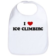 I Love Ice Climbing Bib