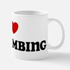 I Love Ice Climbing Mug