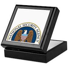NSA Monitored Device Keepsake Box
