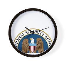 NSA Monitored Device Wall Clock