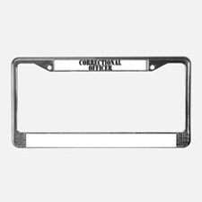 CORRECTIONAL OFFICER License Plate Frame