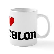 I Love Pentathlon Mug