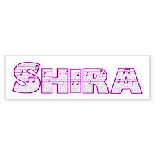 Shira Bumper Bumper Sticker