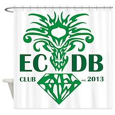 Emerald City Dragon Boat Club  Shower Curtain