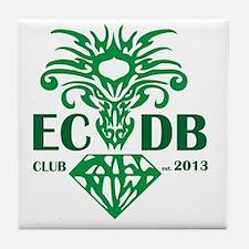 Emerald City Dragon Boat Club  Tile Coaster